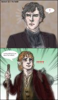 Sherlock fanfic 'unanalyzed' : The Hobbit collabo by noji1203