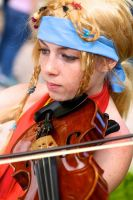 Rikku: Playing at HurriCon! by Shakethingsup