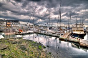 Boston Seaport II by ashamandour