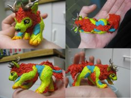 Kirin Sculpture by StrawberryNezumi