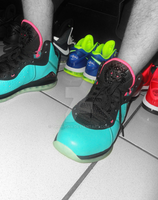 LeBron James 8 South Beach by truhijinx