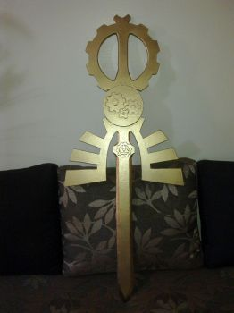 Master Sword (Steampunk ver) WIP (06/07) by LastMinuteReplicas