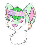 Kaiko cutie -commission- by Deer-dog