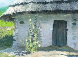 Ukrainian Hut by DChernov
