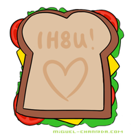 TIS SANDWICH? NO. by migbox