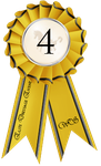 Elite Dressage Event Ribbon 4th Place by Tigra1988