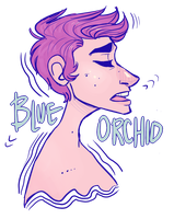 Blue Orchid by PearlChelle