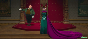 Elsa and Anna's mom's coronation. by TeleVue