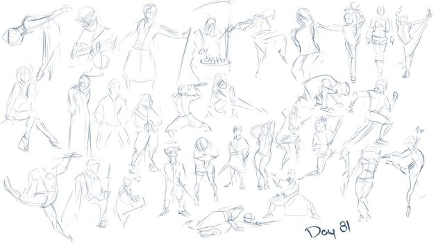 Figure exercises - Day 81 by Dante-mL