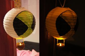 Ben 10 lamp by g-key