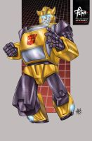 23/34 Bumblebee by FranciscoETCHART
