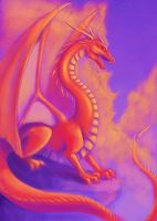 Mountain Dragon by nocturnalMoTH