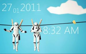 Hanging Stormtroopers by coaliscool