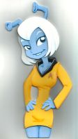 Star Trek TOS Andorian by BrianSutton