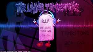 The Living Tombstone wallpaper by HowAboutNaw