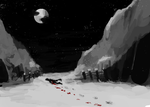 stroll through the snow by ninthsphere