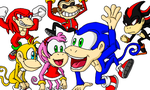 Sonic Kong Country Shaded by SpongicX