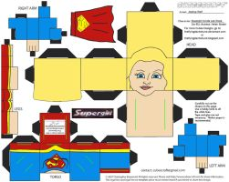 DCF9: Supergirl Cubee by TheFlyingDachshund