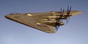 Northrop XB-35 flying wing by Emigepa