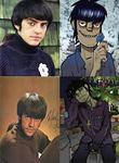 Murdoc and Mark by AntrB