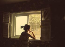 I'll be waiting by my window by colorcreations