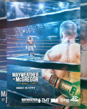 Floyd Mayweather vs Conor Mcgregor Boxing vs MMA by WWESlashrocker54