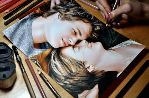 Drawing The Fault in our stars by Heatherrooney