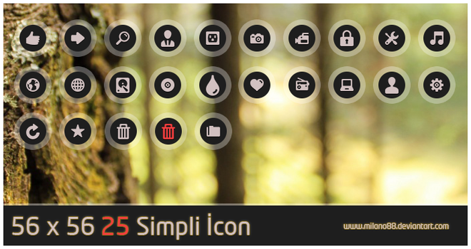 Simpli Icon by milano88