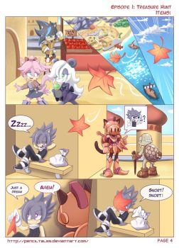 Chase Hedgehog Page4 Desert Harbor by PencilTales