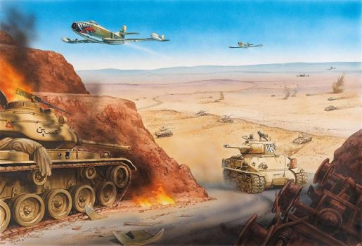 The battle of the Dothan Valley, 6 June 1967 by saudi6666
