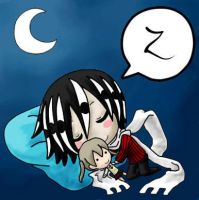 Asura Sleeping by Z-Raid