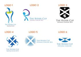 Ryder Cup 2014 Opening Concert Logos by thomasdyke