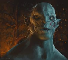 Azog by Gore-Shiring