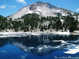 Lassen Peak by TheForestWhispers