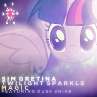 SimGretina + Twilight Sparkle + Dusk Shine - Magic by AdrianImpalaMata