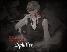 Blood splatter .. by FRNchan