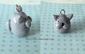 Chubby Cat Charm by Celdo