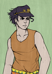Jotaro Thing Again by SnowpirateRoy