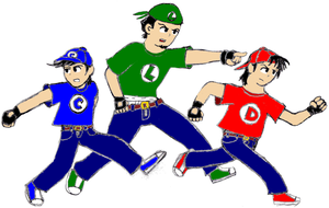 Super Ovalle Bros. by soryukey
