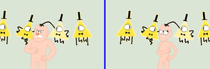Gravity Falls- Meeting Bill Cipher Base by TFAfangirl14