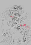 M75 wild nails flying sketchie by LotusLumino