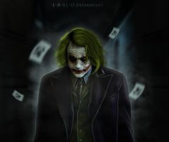 The Joker by l-a-ll-o