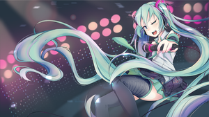 Miku's Stadium Concert by Tiribrush