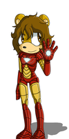 Sonic Avengers - Iron Man by skysong-angel