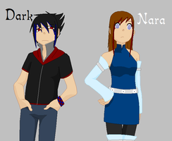 Soul Eater OCs: Dark and Nara by KhairiLoneliness
