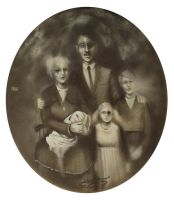 Family ghost photo by Hefsiular