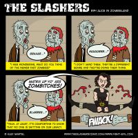 The Slashers 34 by crashdummie