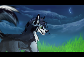 With the lights out +SPEEDPAINT by ElectricSilence