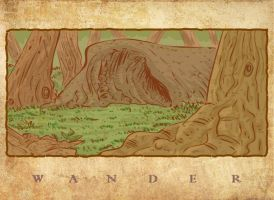 Wander 3: Weathered Cave by tarunbanned