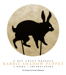 Rabbit Shadow Puppet by mimetalk